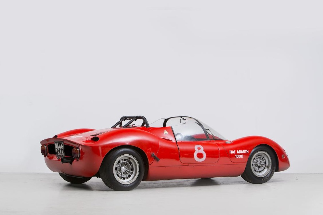 One off Abarth 1000 SP evocation unveiled