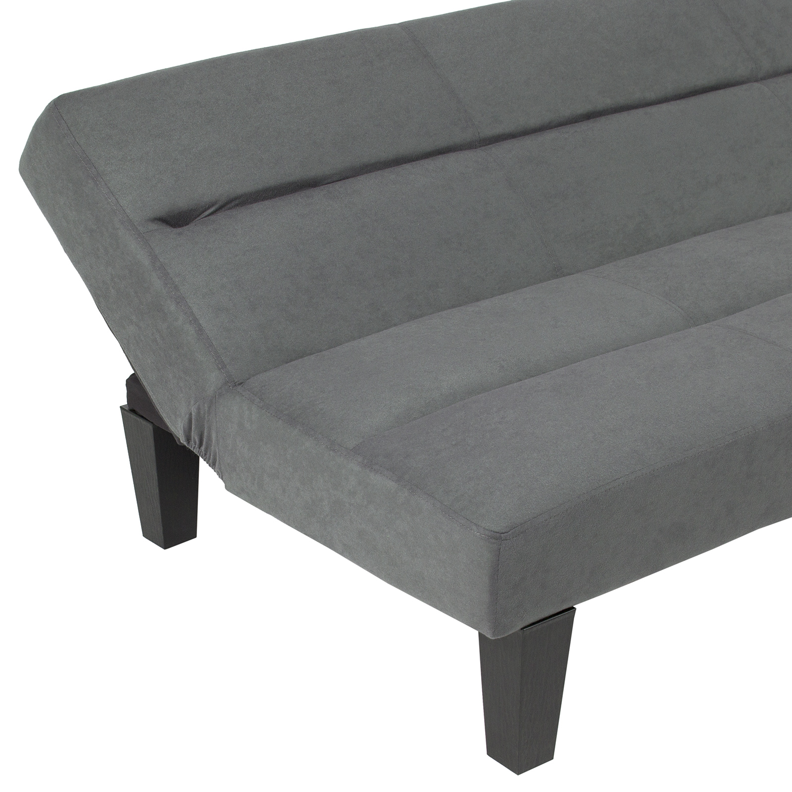 BCP-Microfiber-Folding-Futon-Sofa-Bed-w-6in-Thick-Padding