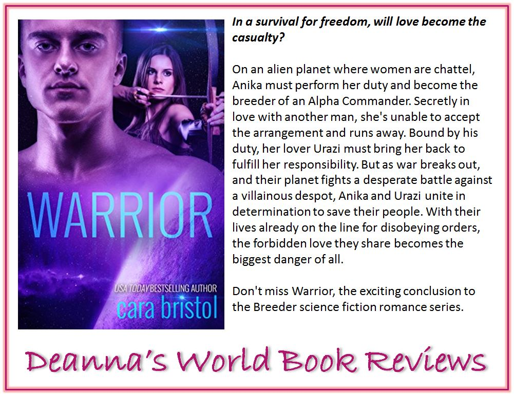 Warrior by Cara Bristol blurb