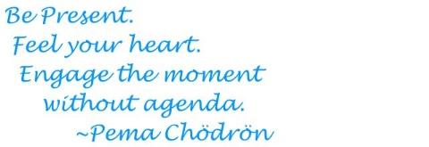 Pema Chodron Three Steps