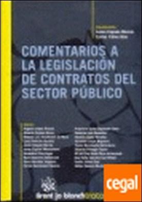 Comentarios a la Legislación de Contratos del Sector Público por Javier Cepeda Morrás PDF