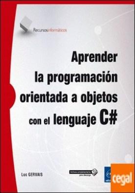 Aprender la progamación orientada a objetos con el lenguaje C#