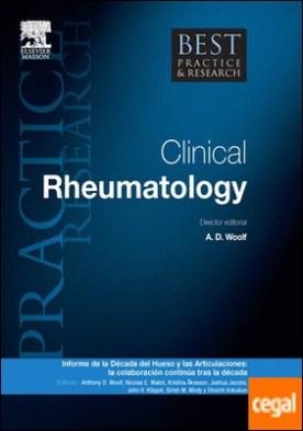Best Practice & Research. Reumatología Clínica Vol. 26, Nº 2: Informe de la d¿cedad del hueso y las articulaciones