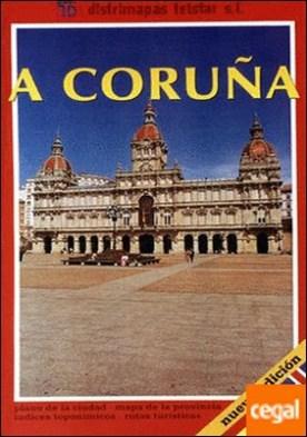 A Coruña. Plano Ciudad