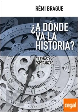 ¿A dónde va la historia? . Dilemas y esperanzas por Brague, Rémi PDF