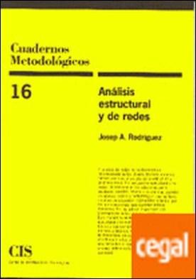 Análisis estructural y de redes
