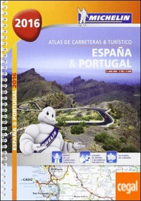 Atlas de carreteras y turístico España & Portugal (formato A-4)