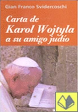 Carta de Karol Wojtyla a su amigo judío