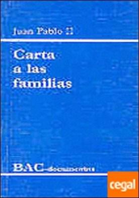Carta a las familias . 1994 año de la familia