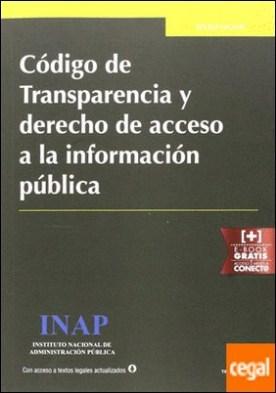 Código de Transparencia y derecho de acceso a la información pública por Hernández López, José Miguel PDF