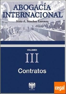 ABOGACIA INTERNACIONAL III CONTRATOS