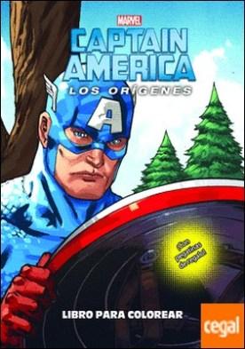 Capitán América. Los orígenes. Libro para colorear . Colorear con pegatinas
