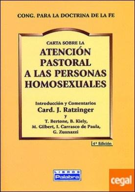 Atención pastoral a personas homosexuales