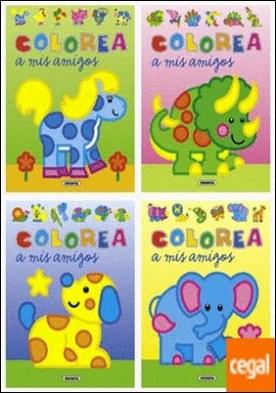 Colorea a mis amigos (4 títulos)
