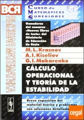 CALCULO OPERACIONAL Y TEORIA DE LA ESTABILIDAD