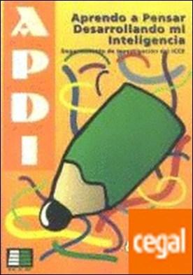 Aprenc a pensar desenvolupant la meva inte·ligència (APDI-1)