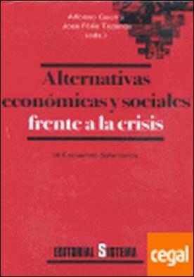 ALTERNATIVAS ECONOMICAS Y SOCIALES FRENTE A . IX ENCUENTRO SALAMANCA