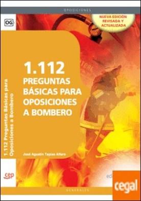1.112 Preguntas Básicas para Oposiciones a Bombero . Array