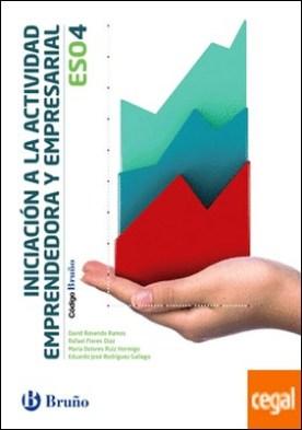 Código Bruño Iniciación a la Actividad Emprendedora y Empresarial 4 ESO