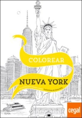 Colorear Nueva York . 20 escenas para colorear a mano