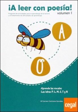 A leer con poesía 1 . Aprende las vocales letras p, l, m, s, t y n por Contreras González, María del Carmen PDF