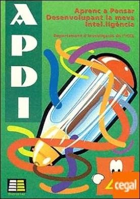 Aprenc a pensar desenvolupant la vema intel·igéncia (APDI-4)