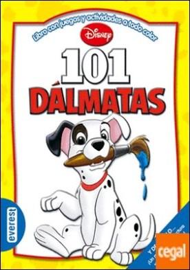 101 Dálmatas . Libro con juegos y actividades a todo color