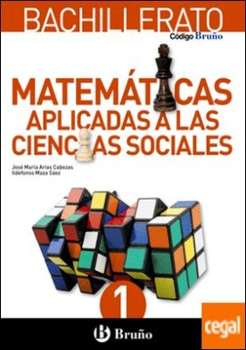Código Bruño Matemáticas Aplicadas a las Ciencias Sociales 1 Bachillerato