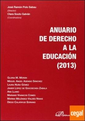 Anuario de derecho a la educación por Polo Sabau, José Ramón PDF