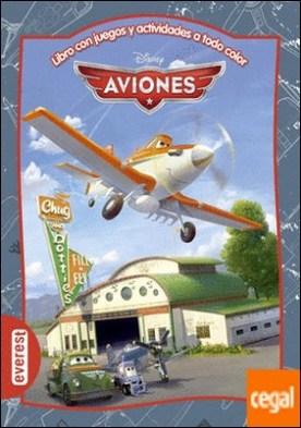 Aviones. Libro con juegos y actividades a todo color . Y DE REGALO... ¡Un marcador de lectura y figuras recortables!