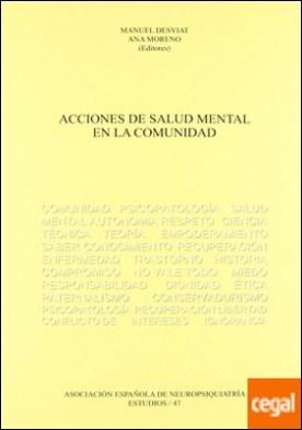 ACCIONES DE SALUD MENTAL EN LA COMUNIDAD