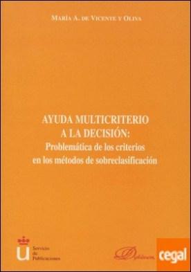 Ayuda multicriterio a la decisión