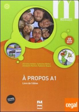 À propos A1 Livre de l'élève + CD audio (nouvelle couverture)