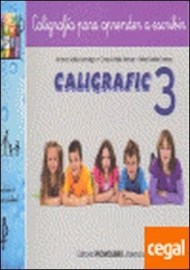 Caligrafic-3 . Caligrafía para aprender a escribir
