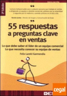 55 respuestas a preguntas clave en ventas . Lo que Debe Saber el Líder de un Equipo Comercial