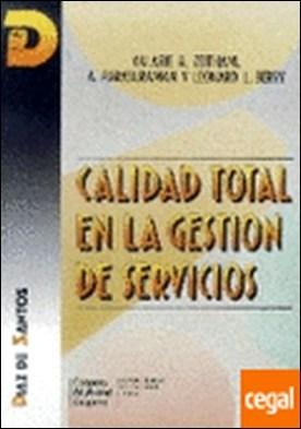 Calidad total en la gestión de servicios