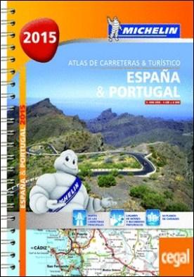 Atlas de carreteras y turístico España & Portugal (formato A-4) . Escala 1:400.000 - 1cm=4 km