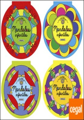 Colorea mandalas infantiles (4 títulos)