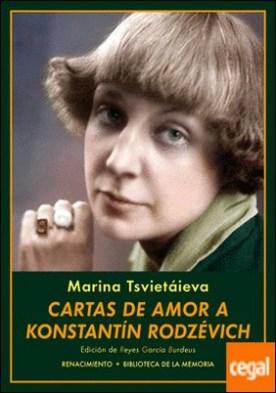 Cartas de amor a Konstantín Rodzévich