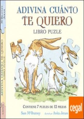 Adivina cuánto te quiero libro puzzle