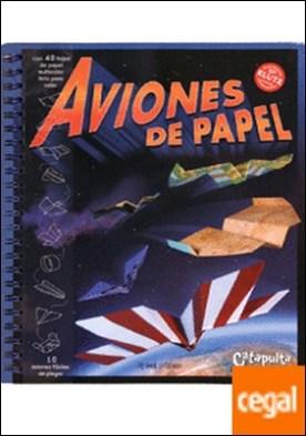 Aviones de papel . Con 40 hojas de papel multicolor listo para volar