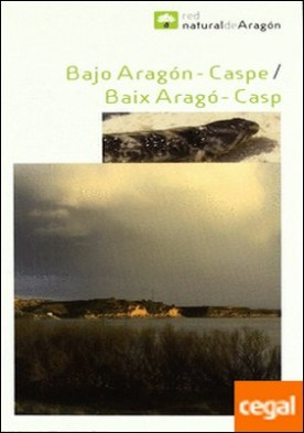 Bajo Aragón, Caspe/Baix Aragó, Casp . Incluya mapa, escala 1:125.000
