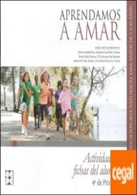 APRENDAMOS A AMAR 4 EP ACTIVIDADES Y FICHAS DEL AL