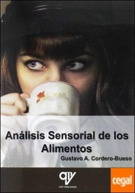 Análisis Sensorial de los Alimentos por CORDERO-BUESO, GUSTAVO A. PDF