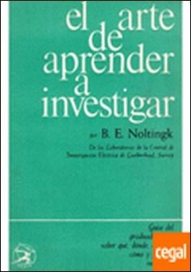 460. ARTE DE APRENDER A INVESTIGAR. TELA