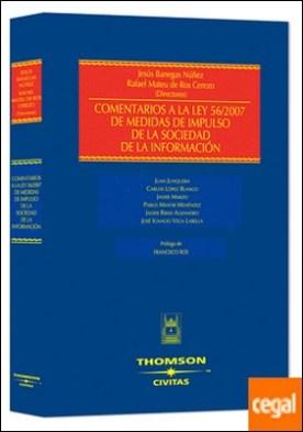 Comentarios a la Ley 56/2007 de medidas de impulso de la sociedad de la información