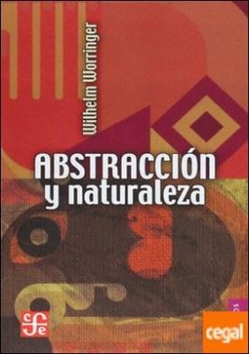 ABSTRACCION Y NATURALEZA. UNA CONTRIBUCION A LA PSICOLOGIA ....
