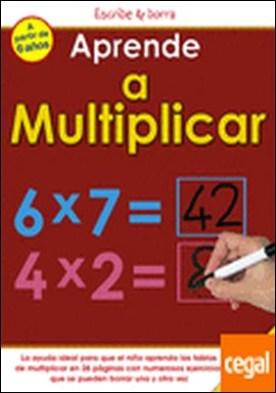 Aprende a multiplicar . Incluye rotulador