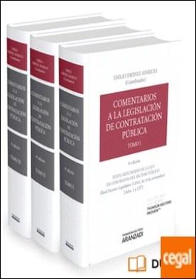 Comentarios a la Legislación de Contratación Pública - 3 Tomos (Papel + e-book) por Jiménez Aparicio, Emilio PDF