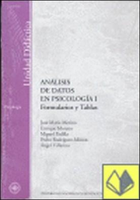 Análisis de datos en psicología I